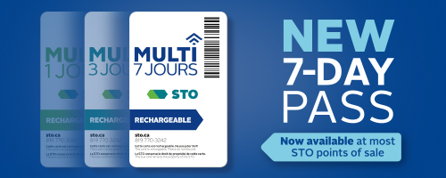 NEW 7-DAY pass. Available at most points of sale
